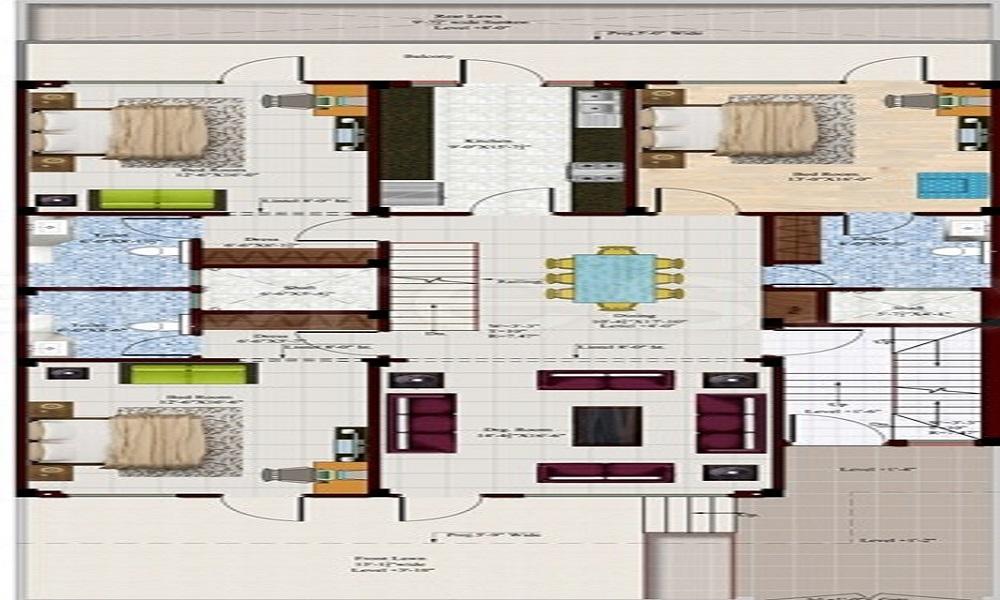 Freeway Residency Floors Floor Plan