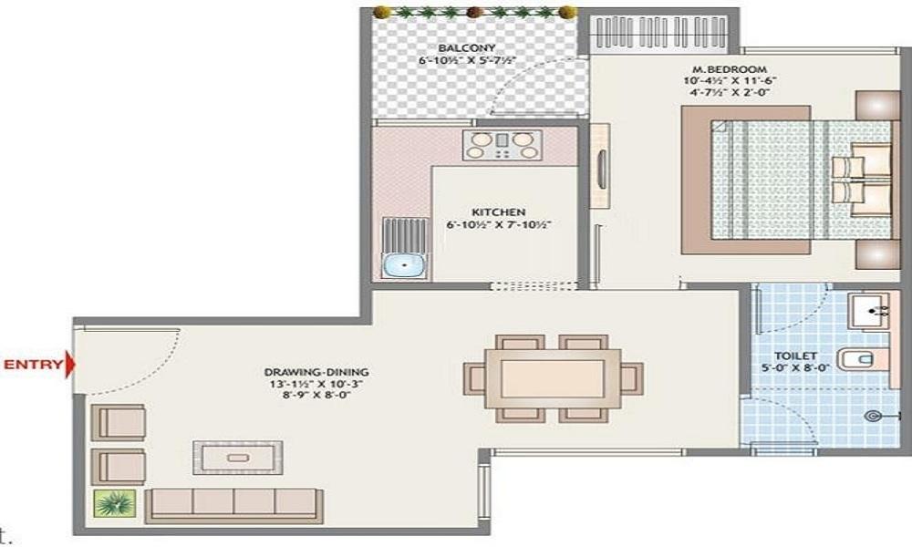 ABL Palm Exotica Floor Plan
