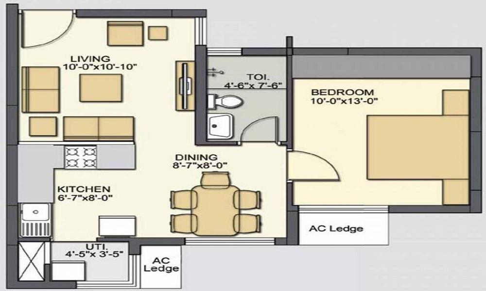 Akshaya January Floor Plan
