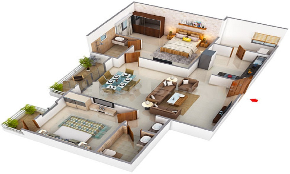 Allied Investment & Housing Atallah Towers Floor Plan