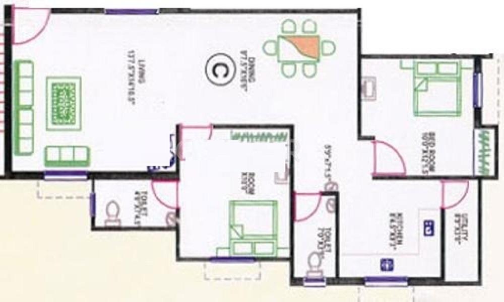 Antony Blossom Floor Plan