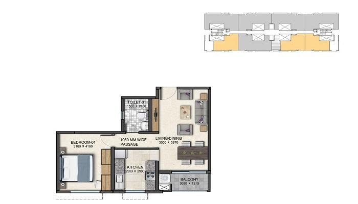 Sobha Green Acres Floor Plan