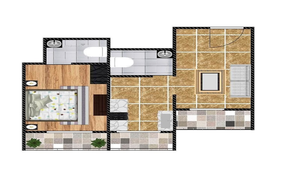 Arun Excello Temple Green Floor Plan