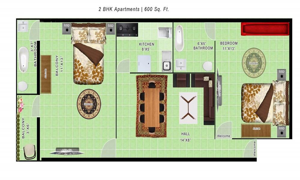 Arun Estancia Mini Floor Plan