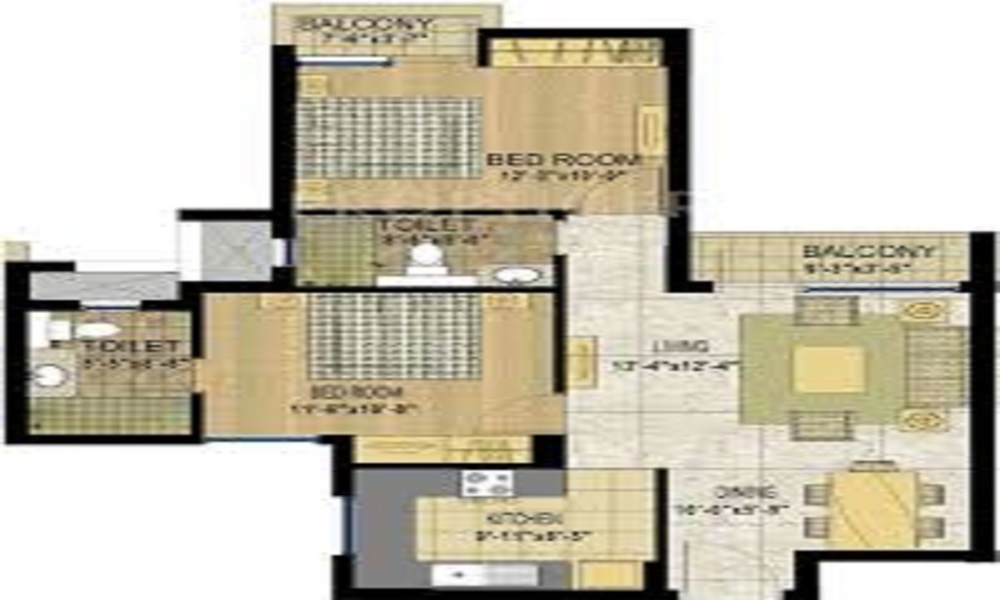 Arun Ragamalika Phase II Floor Plan
