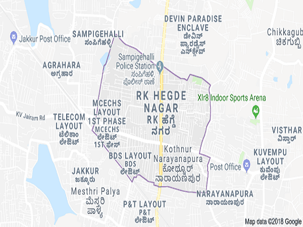 hegde nagar bangalore map Hegde Nagar Real Estate Hegde Nagar Property Rates Bangalore hegde nagar bangalore map