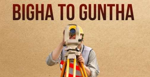 Bigha to Guntha & Convert Bigha to Guntha